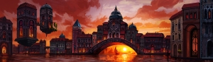 Venice Bridge Mural