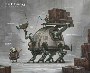 Battery Transport Concept